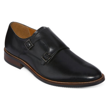 jcpenney.com | Stafford® Redwood Mens Leather Double-Monk Strap Dress Shoes
