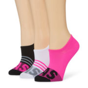 adidas® 3-pk. Adi Stripe Super No Show Socks