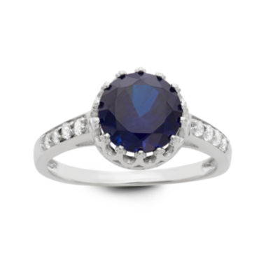 jcpenney.com | Lab Created Blue Sapphire Sterling Silver Ring