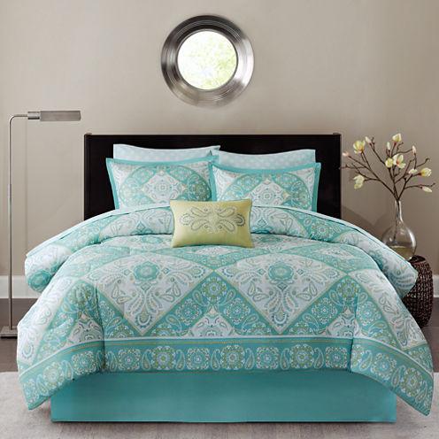 Madison Park Essentials Brooke Comforter & Sheet Set