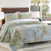 Greenland Home Fashions Mallory Quilt Set