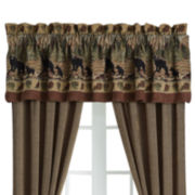 Croscill Classics® Bears Rod-Pocket Lined Valance