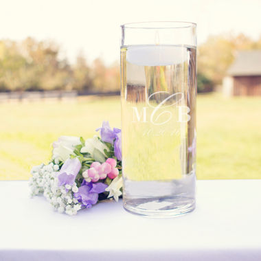 jcpenney.com | Wedding Monogram Floating Unity Candle