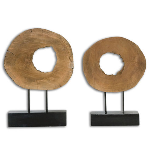Set of 2 Ashlea Tabletop Accessories