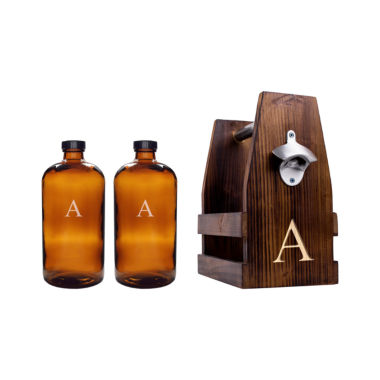 jcpenney.com | Cathy's Concepts Personalized Rustic Craft Beer Carrier Set