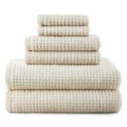 JCPenney Home™ Quick-Dri™ 6-pc. Bath Towel Set