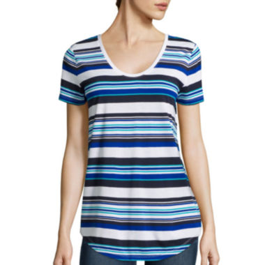 jcpenney.com | Stylus ™ Relaxed Fit Scoop Neck T-Shirt