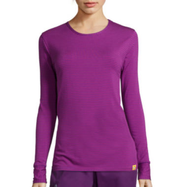 jcpenney.com | WonderWink® Layers Womens Long-Sleeve Striped Tee