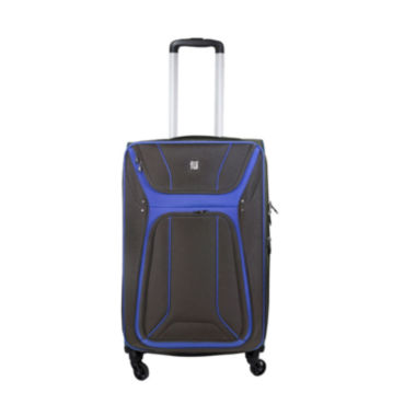 "jcpenney.com | ful Delancey Softside 24"" Spinner Upright Luggage"