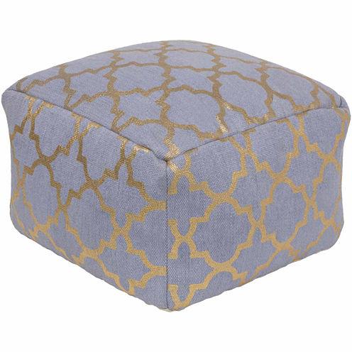 Decor 140 Ukalo Geometric Pouf Ottoman