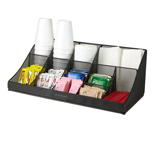 Mind Reader 'Pioneer' 11-Compartment Break Room Coffee And Condiment Organizer