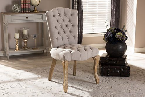 Baxton Studio Clemence Side Chair