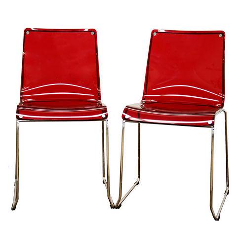 Baxton Studio Lino 2-pc. Side Chair