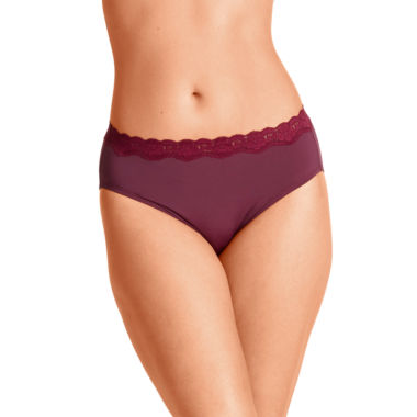 jcpenney.com | Olga® Without A Stitch® Hi-Cut Brief Panties - 23067