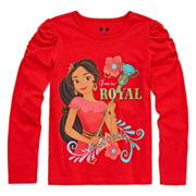 Disney Apparel by Okie Dokie® Long-Sleeve Elena Tee - Preschool Girls 4-6x