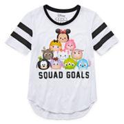 Disney Tsum Short-Sleeve Squad Goals Baseball Tee - Girls 7-16