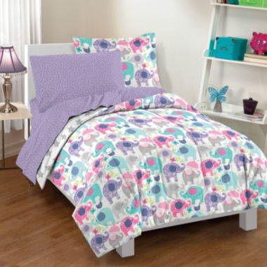 jcpenney.com | Dream Factory Elley Elephant Comforter Set