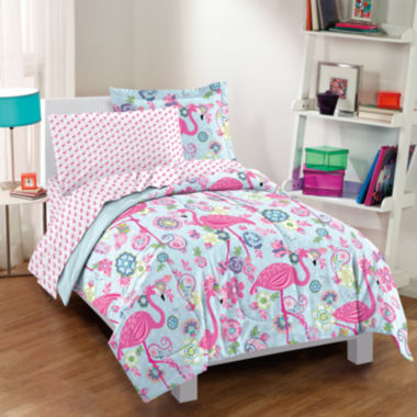 jcpenney.com | Dream Factory Flamingo Comforter Set