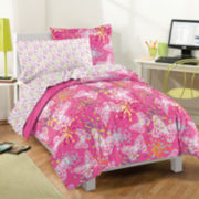 Dream Factory Butterfly Party Comforter Set