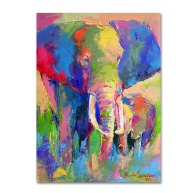 jcpenney.com | Elephant Canvas Wall Art