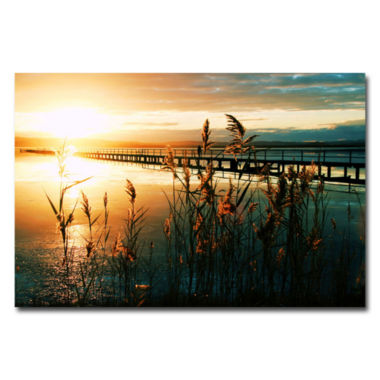 jcpenney.com | Wish You Were Here Canvas Wall Art