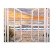 Elongated Window Canvas Wall Art