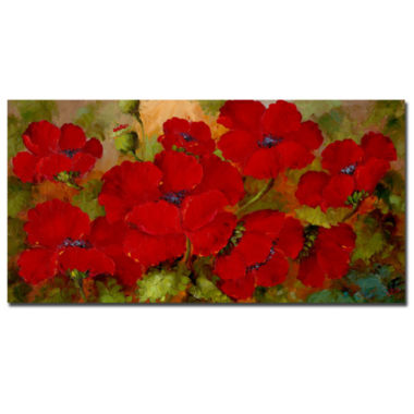 jcpenney.com | Poppies Canvas Wall Art