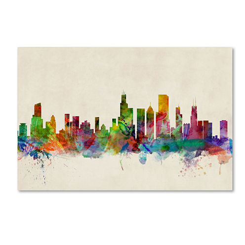 Chicago Skyline Canvas Wall Art