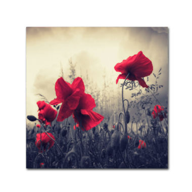 jcpenney.com | Red for Love Canvas Wall Art