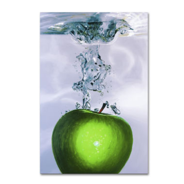 jcpenney.com | Apple Splash Canvas Wall Art