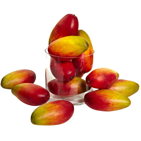 Nearly Natural 5.5 Set of 12 Weighted Faux Mangos