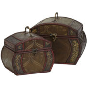 Decorative Chests Set Of 2