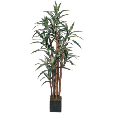jcpenney.com | Nearly Natural 5-ft. Yucca Silk Tree