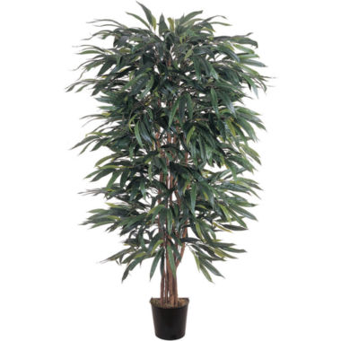 jcpenney.com | Nearly Natural 5-ft. Weeping Ficus Silk Tree