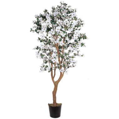 jcpenney.com | Nearly Natural 5-ft. Dogwood Silk Tree