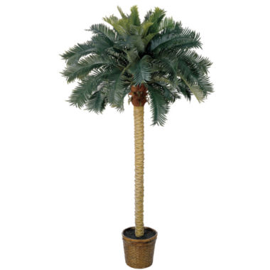 jcpenney.com | Nearly Natural 6-ft. Sago Palm Silk Tree