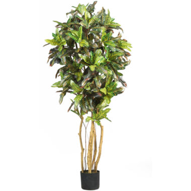 jcpenney.com | Nearly Natural Croton Silk Tree