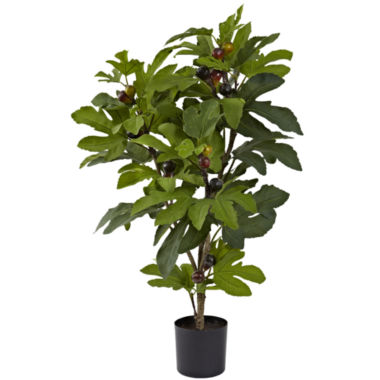 jcpenney.com | Nearly Natural 32 Fig Tree With 15 Figs