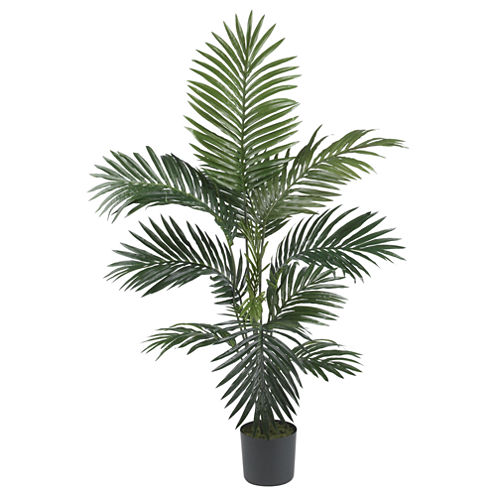 Nearly Natural 4-ft. Kentia Palm Silk Tree