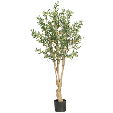 jcpenney.com | Nearly Natural 5' Olive Silk Tree