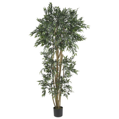 jcpenney.com | Nearly Natural 6-ft. Green Ash Silk Tree