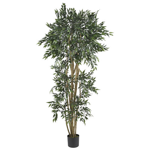 Nearly Natural 6-ft. Green Ash Silk Tree