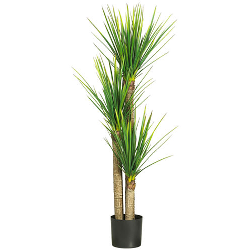 "Nearly Natural 58.5"" Yucca Silk Tree"