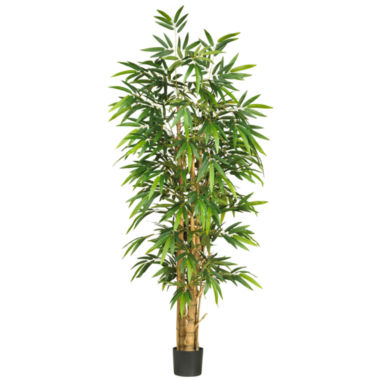 jcpenney.com | Nearly Natural 6' Belly Bamboo Silk Tree