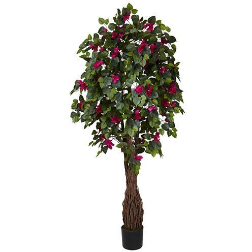 Nearly Natural 6-ft. Multi Vine Bougainvillea Silk Tree