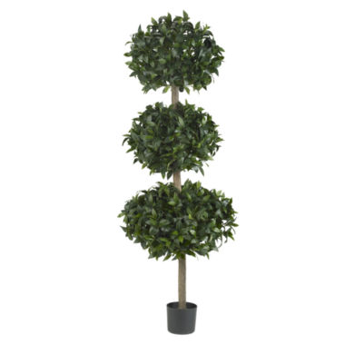 "jcpenney.com | Nearly Natural 69"" Sweet Bay Triple Ball Tree"