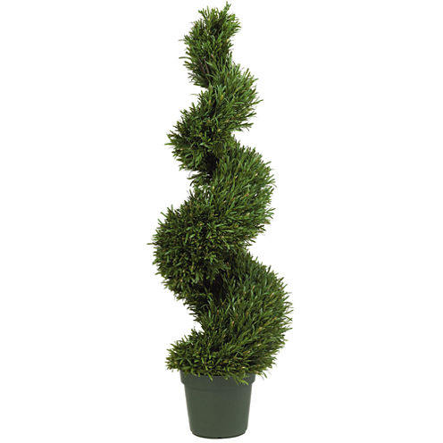 Nearly Natural Rosemary Spiral Silk Tree