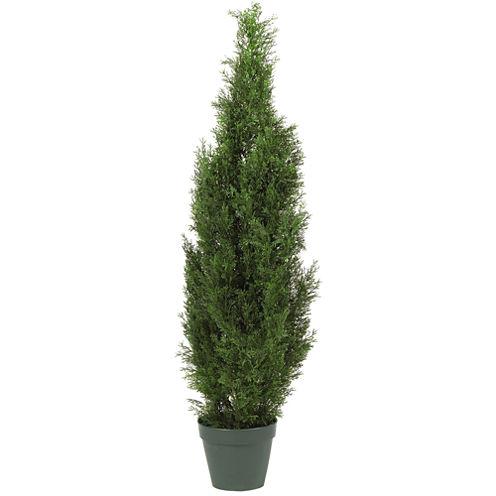 Nearly Natural 4-ft. Cedar Tree Silk Tree