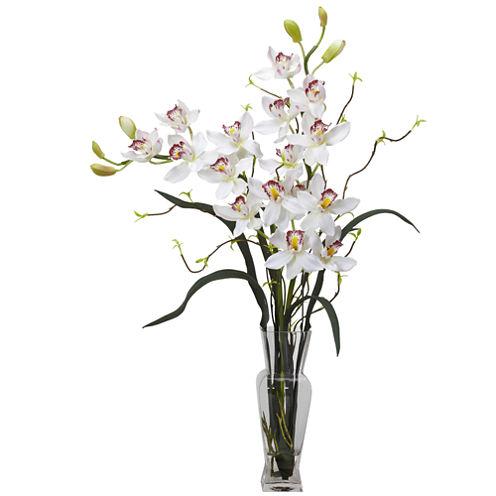 Cymbidium Silk Flower Arrangement