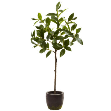 jcpenney.com | Nearly Natural 29-ft.-ft. Topiary With Decorative Planter
